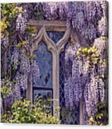 Pretty Window Canvas Print
