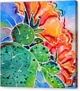 Prickly Pear Canvas Print