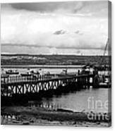 Priddy's Hard Jetty Canvas Print