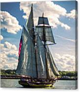 Pride Of  Baltimore 1 Canvas Print