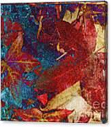 Primary Autumn Canvas Print