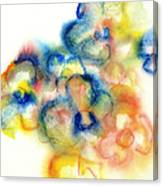 Primary Bouquet I Canvas Print