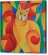 Primary Cat II Canvas Print