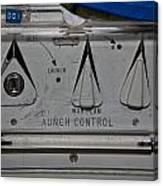 Primary Control Canvas Print