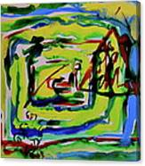 Primary Study IIi Into The Light Canvas Print