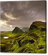 Primeval Earth - Isle Of Skye Panorama Canvas Print