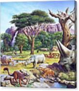 Primitive Mammals Canvas Print