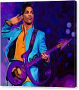 Prince 3 Canvas Print