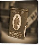Prince Albert In A Can Canvas Print