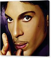 Prince Artwork Canvas Print