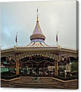 Prince Charmings Regal Carousel Canvas Print