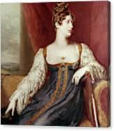 Princess Charlotte Canvas Print