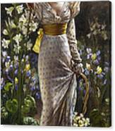 Princess Elvina Of Bavaria Canvas Print