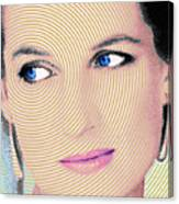 Princess Lady Diana Canvas Print