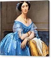 Princesse Albert De Broglie Nee Josephine Eleonare Marie Pauline De Galard De Brassac De Bearn Canvas Print