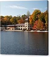 Princeton Crew Boathouse Princeton New Jersey Canvas Print