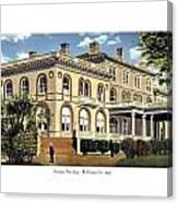 Princeton New Jersey - The Princeton Inn - 1925 Canvas Print
