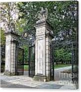Princeton University Main Gate Canvas Print