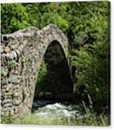 Principality Of Andorra. Pont De La Canvas Print