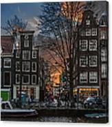Prinsengracht 743. Amsterdam Canvas Print