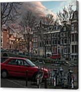 Prinsengracht 791. Amsterdam. Canvas Print