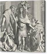 Print Of Aegidius Le Maistre 1665, Upper Part Canvas Print