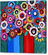 Prisarts Florals II Canvas Print