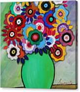 Prisarts Florals IIi Canvas Print