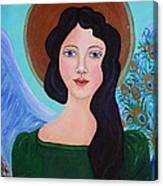 Priscilla  The Balancing Angel Of Love Canvas Print