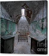 Prison Cell At Eastern State Penitentiary Canvas Print