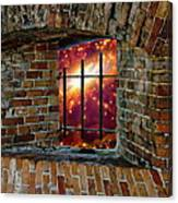 Prison In The Cosmos Canvas Print