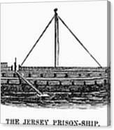 Prison Ship: Jersey Canvas Print