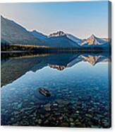 Pristine Lake Canvas Print