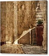 Private Entrance Canvas Print