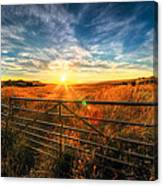 Private Field Canvas Print