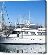 Private Yacht Canvas Print