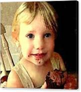 Prized Pastry Canvas Print