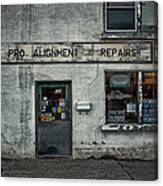 Pro Alignment And Repairs Canvas Print