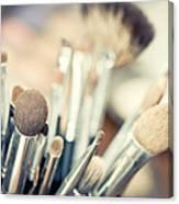 Professional Makeup Brush Canvas Print