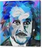 Professor Einstein Canvas Print