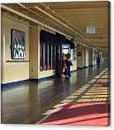 Promenade Deck Queen Mary Ocean Liner 01 Canvas Print