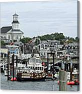 Pronvincetown Harbor Canvas Print