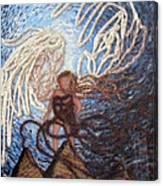 Prophetic Storm Of Angels Canvas Print