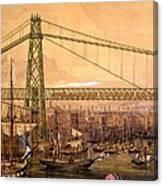 Proposed Railway Bridge Canvas Print