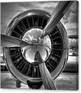Props And Jet Canvas Print