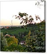 Prosecco Vineyards Canvas Print