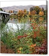 Prosser - Autumn Bridge Canvas Print