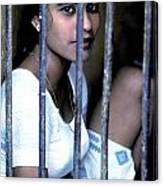 Prostitute In Cage Canvas Print