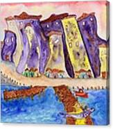 Proud Fisherman Canvas Print
