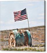 Proud To Be An American Canvas Print